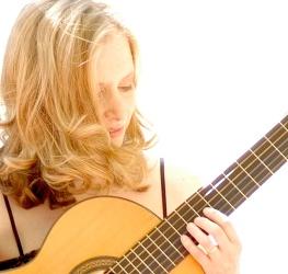 Hilary Field - guitar