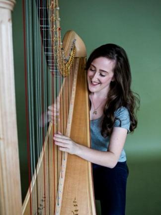 Sophie Baird-Daniel, harpist